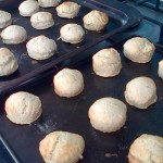 The finished scones